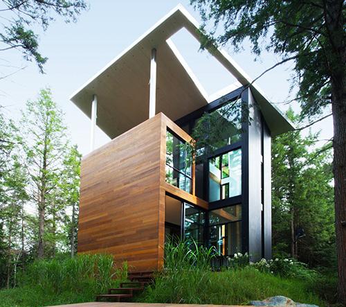 Vila pro sochaře Jacka Jarnuszkiewicze žijícího v Kanadě