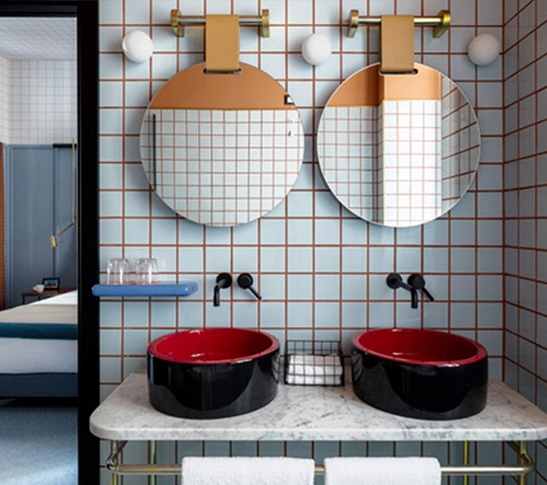 Urquiola spojila v hotelu Giulia moderní i retro design
