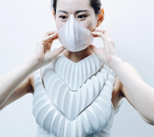 Jun Kamei navrhl 3D tištěný podvodní set fungující jako žábry
