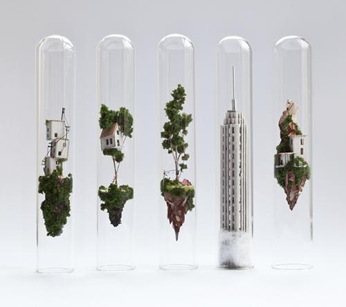 Miniaturní svět v zkumavkách