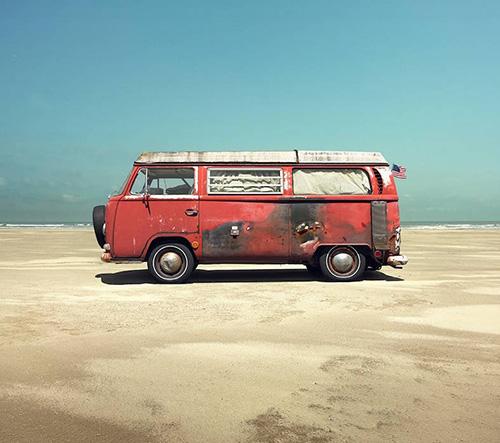 Fotograf Christian Schmidt zve na prohlídku moto krás Kalifornie