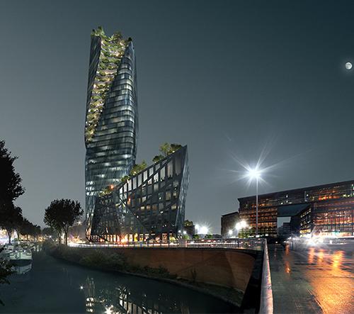 Daniel Libeskind představuje návrhy mrakodrapů pro Paříž