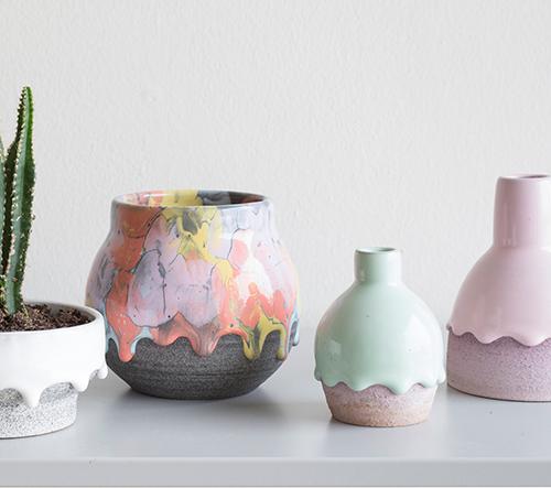 Brian Giniewski vytvořil novou sérií keramiky