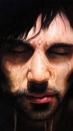 Hyperrealistické portrétyamerického umělce