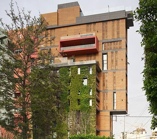 Jean-Marc Bonfils mění tradiční koncept libanonské architektury se svou East Village Apartment Tower
