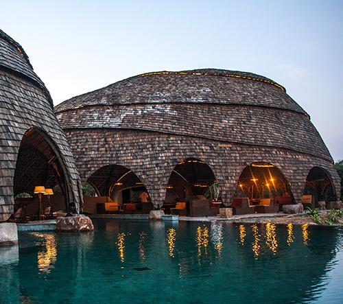 Nomadic Resorts vytvořilo na Srí Lance safari eko camp inspirovaný starověkým bydlením