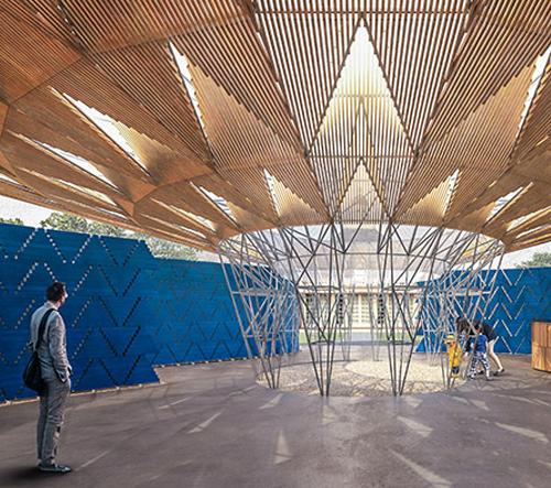 Pavilon před Serpentine Gallery postaví Francis Kéré