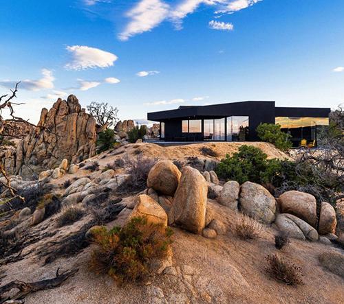 Výber nejlepších domů v poušti