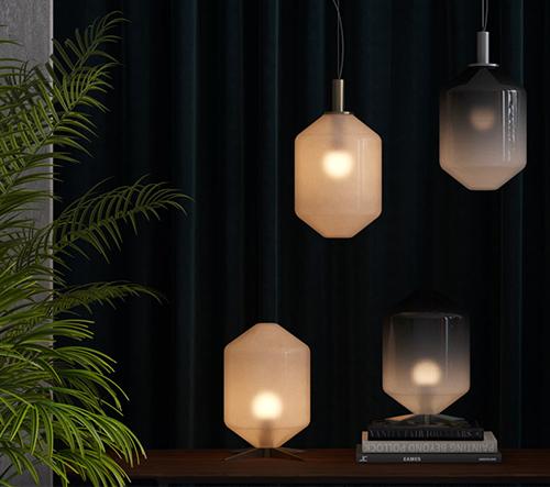 Emre Yunus Uzun vytvořil kolekci svítidel Gloom & Mist