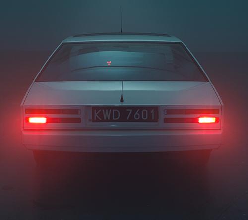 Okouzlující fotografie věnované automobilu Aston Martin Lagonda