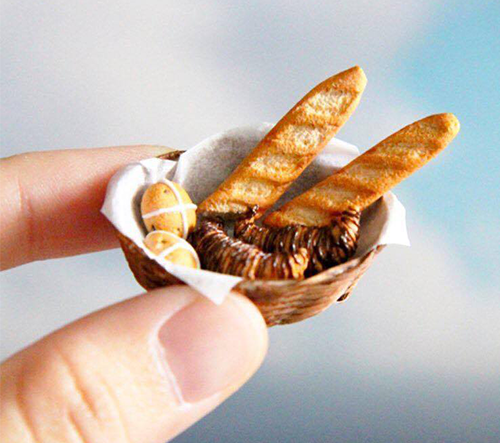 Jocelyn Teo vytvořil realistické miniatúry jídla