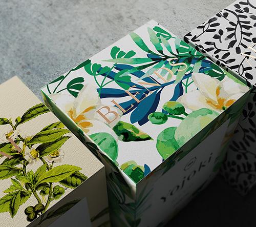 Designér Ariel Di Lisio navrhl pro japonskou značku čaje Yojoki úchvatné balení