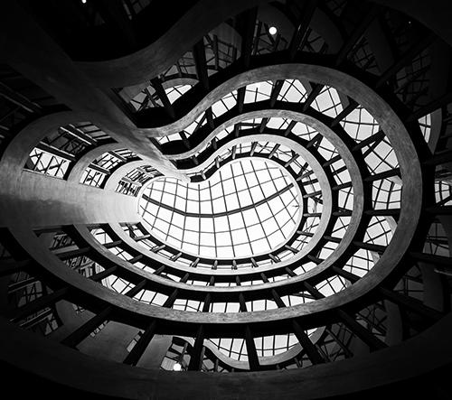 Velkolepá architektura v Barceloně