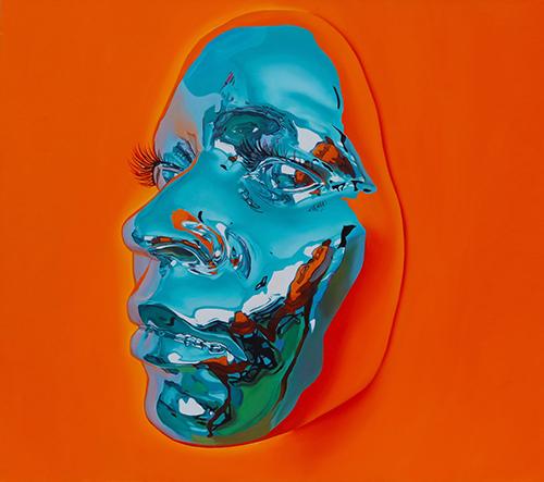 Umělec Kip Omolade vytváří neuvěřitelné surreální masky a hyperrealistické portréty