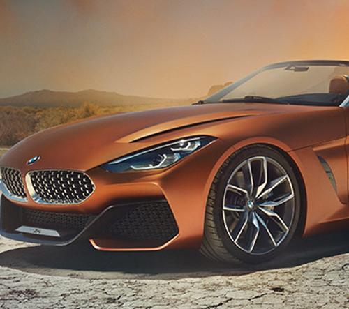 BMW odhalilo koncept dynamického roadsteru Z4