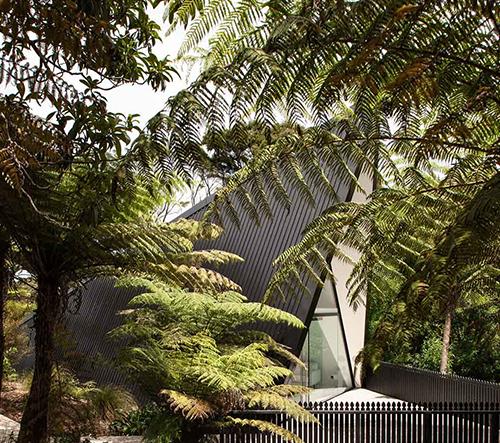 Studio Chris Tate Architecture navrhlo dům jako stan