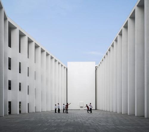 Studio Trace Architecture Office navrhlo v Číně školu podporující kreativitu a interakci