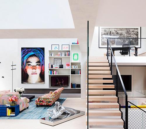 Rodić Davidson Architects v Londýně přestavěli staré studia z 19. století v dechberoucí moderní bydlení